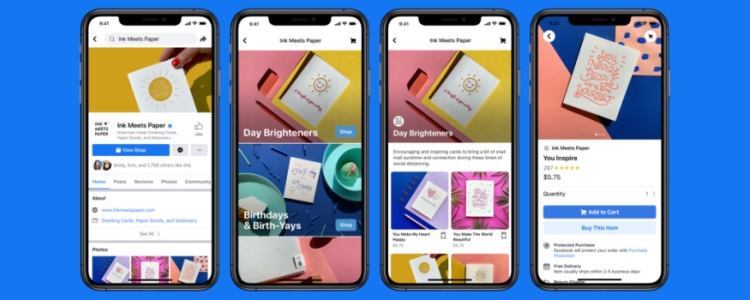 Launch of Facebook Shops