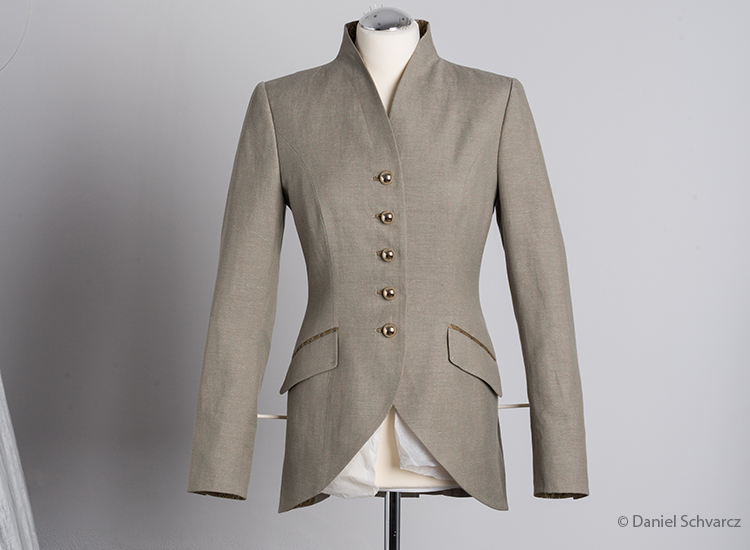 Br24 Blog On-Body Photo Retouching: Photo of a jacket to demonstrate the ghost model technique before retouching