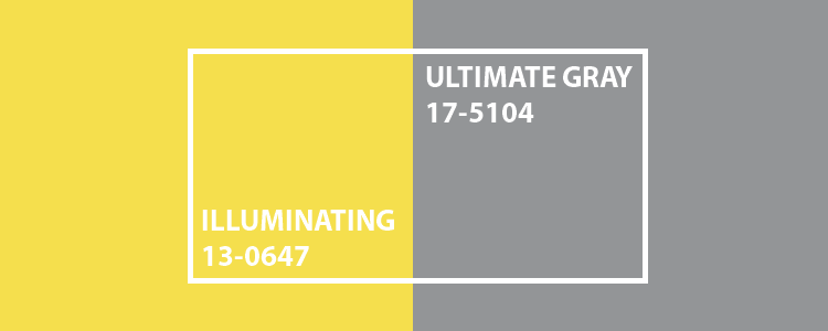 Pantone Farbe des Jahres 2021: Ultimate Gray & Illuminating