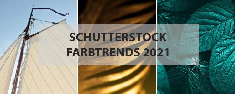 Die Shutterstock Farbtrends 2021