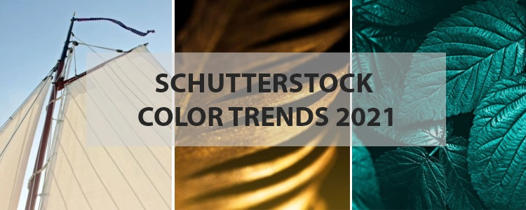The Shutterstock Color Trends 2021