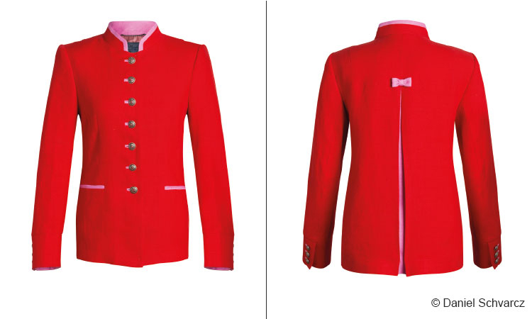 Br24 Ghost Model: Before and after comparison of a jacket, processed with the ghost model technique