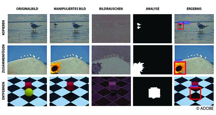 Adobe KI identifiziert manipulierte Bilder