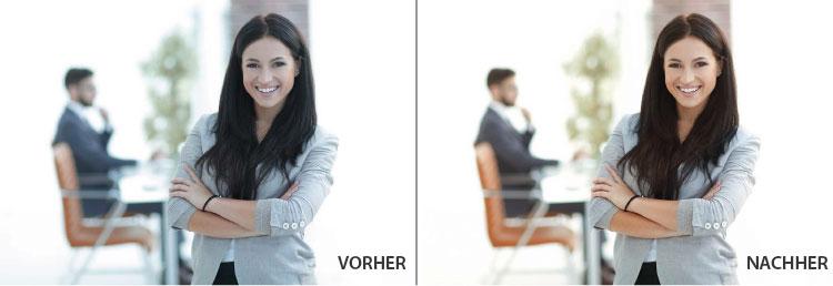 Br24 Farbkorrektur: Beipspielbilder vor und nach der Farbkorrektur