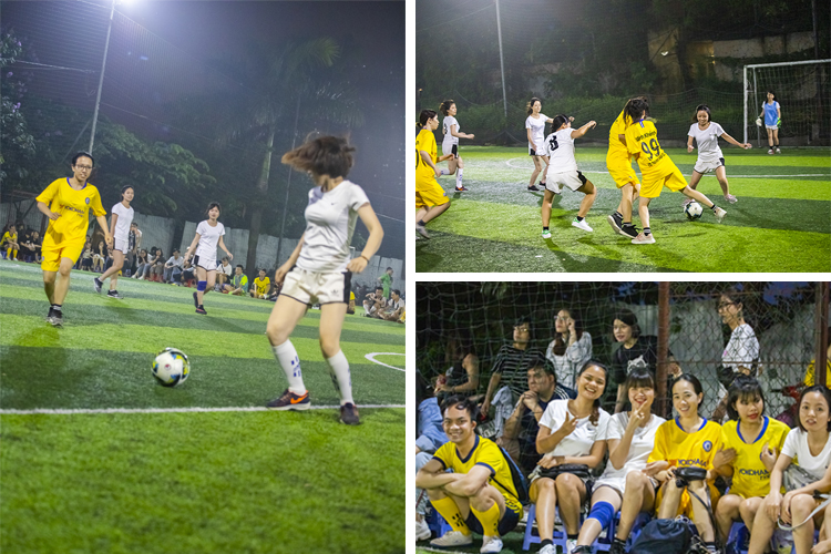 Br24 Blog Br24 Football Tournament 2019: Pictures from the games of the women's teams