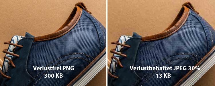 Br24 Blog Bilder optimieren fürs Web: Vergleich verlustfreier Bildkomprimierung mit PNG und verlustbehaftete Bildkomprimierung mit JPEG