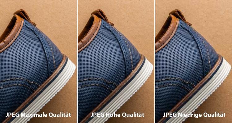 Br24 Blog Bilder optimieren fürs Web: Vergleich drei verschiedener JPEG-Bildqualitäten (maximal, hoch, niedrig)