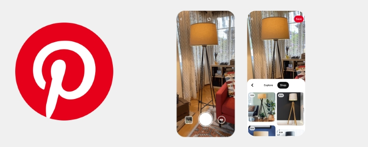 Pinterest adds Shop tab to Lens visual search results