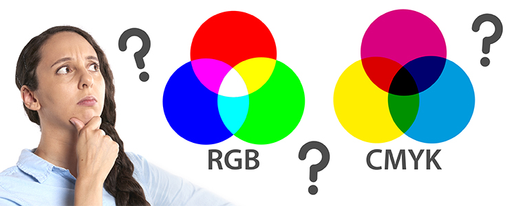 RGB and CMYK: What are the differences?