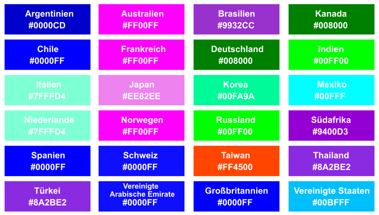 Br24 Shutterstock Farbtrends 2020: Übersicht globale Trendfarben