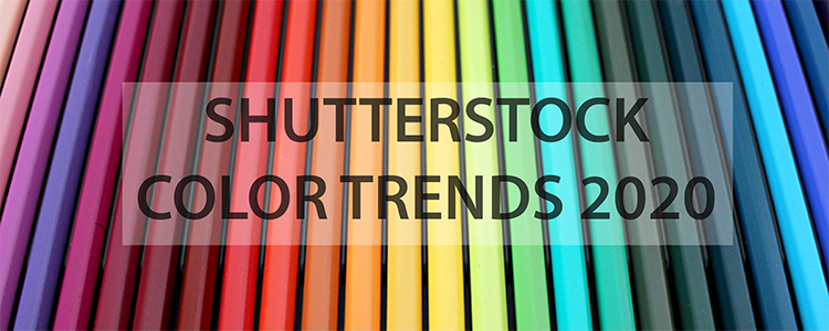 The Shutterstock Color Trends 2020