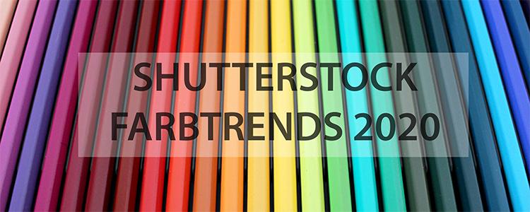 Die Shutterstock Farbtrends 2020