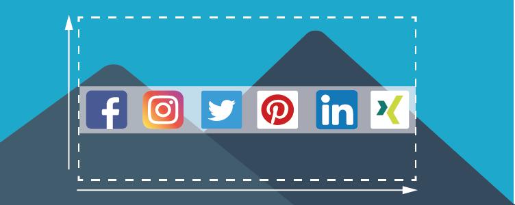 Ihr Guide für Social Media Bildgrößen 2020