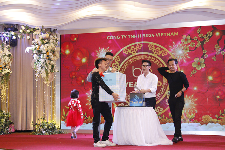Br24 Blog Tet Party 2020: Vietnam - Award ceremony of the big raffle