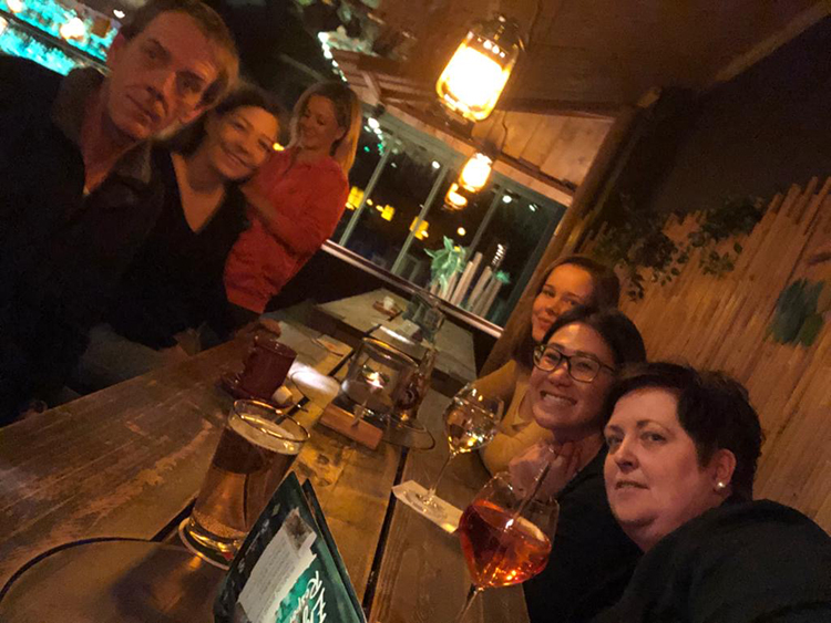 Br24 Blog Tet-Party 2020: Germany- Team is going for drinks
