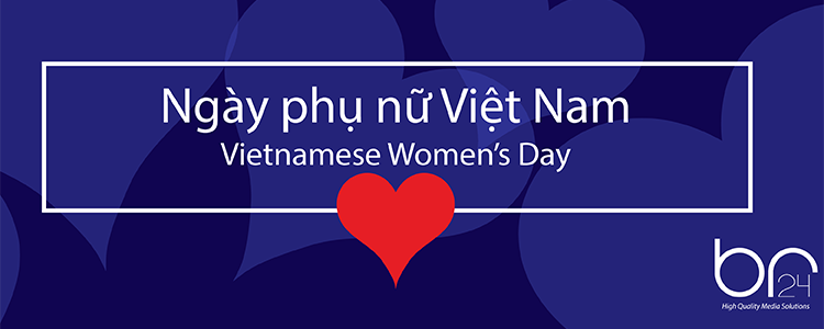 We celebrate the Vietnamese Women's Day