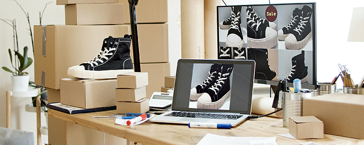 How to photograph shoes for product pictures