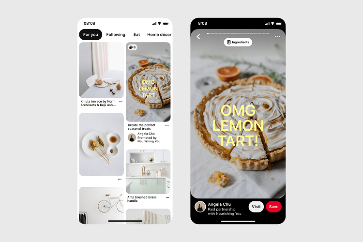 Br24 Blog Pinterest launches new shopping features: Idea Ads feature