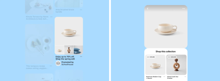 Br24 Blog Pinterest launches new shopping features: Slideshow for collections feature