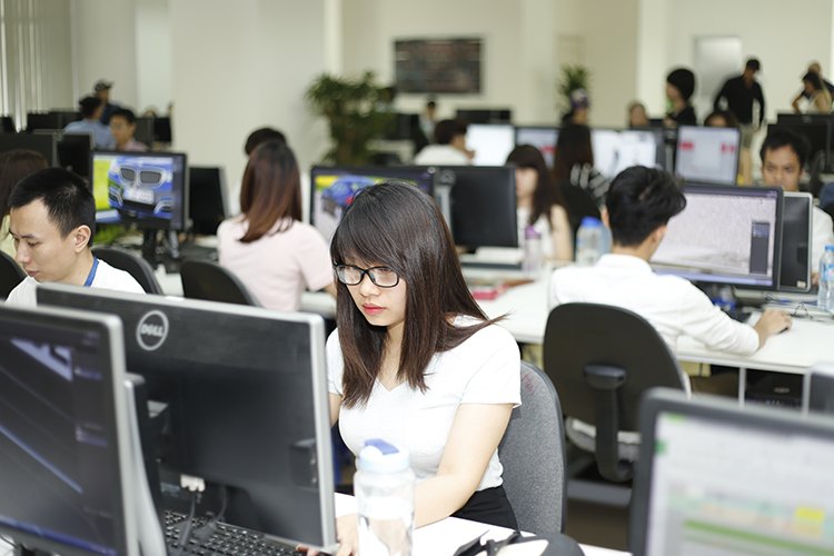 Br24: highly qualified employees in our image processing in Vietnam