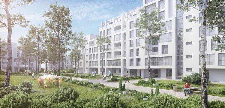BR24: CGI housing estate/ CGI Wohnsiedlung