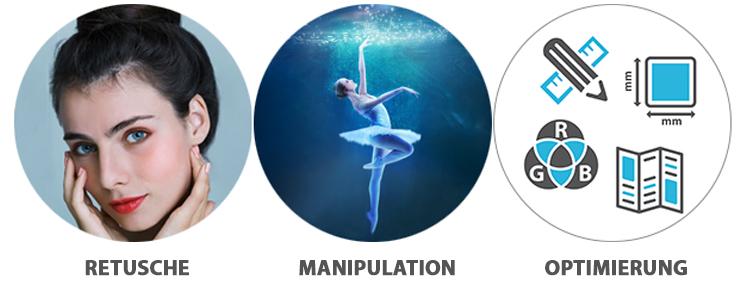 Techniken der Bildbearbeitung – Retusche, Manipulation und Optimierung