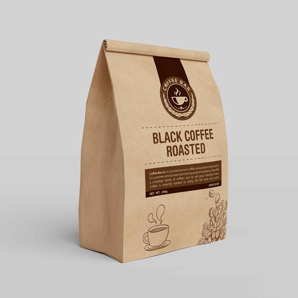 Br24 Verlage & Druck: Gestaltung einer Kaffeeverpackung