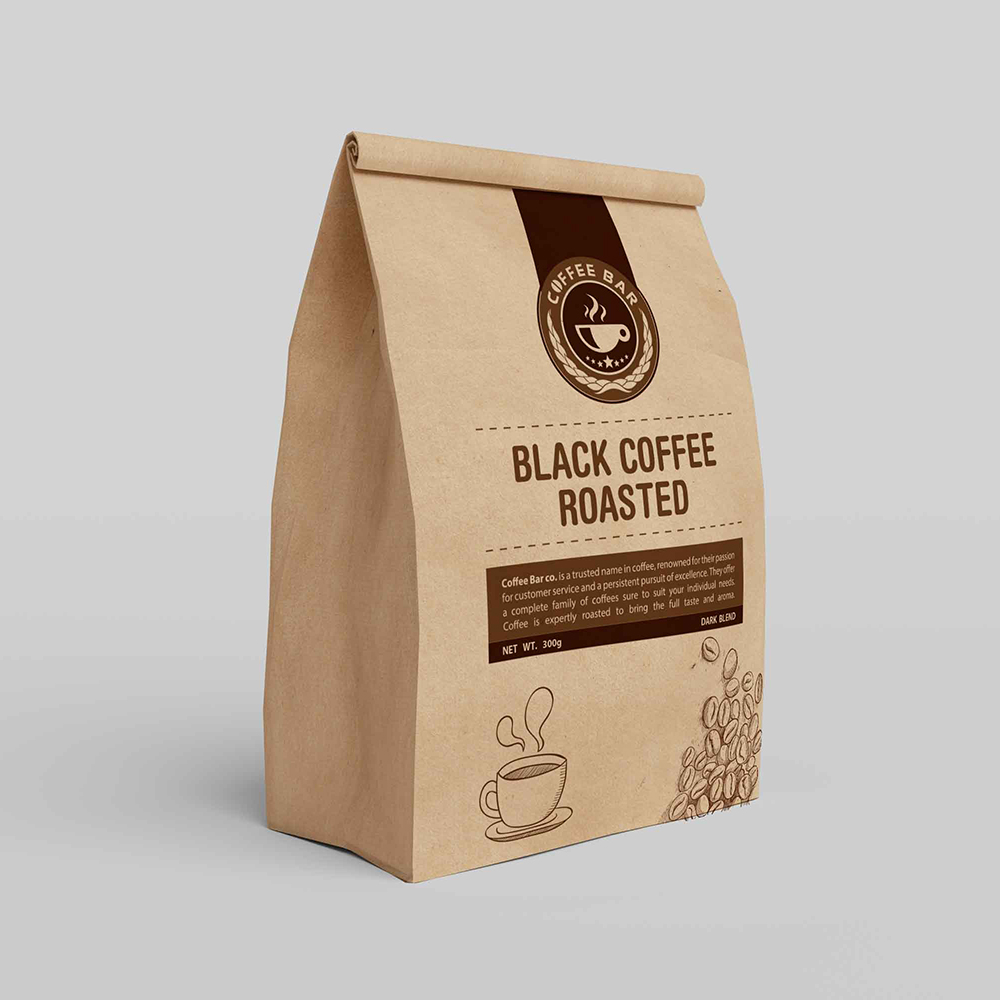 Br24 Publishers & Printing: Design of a coffee package