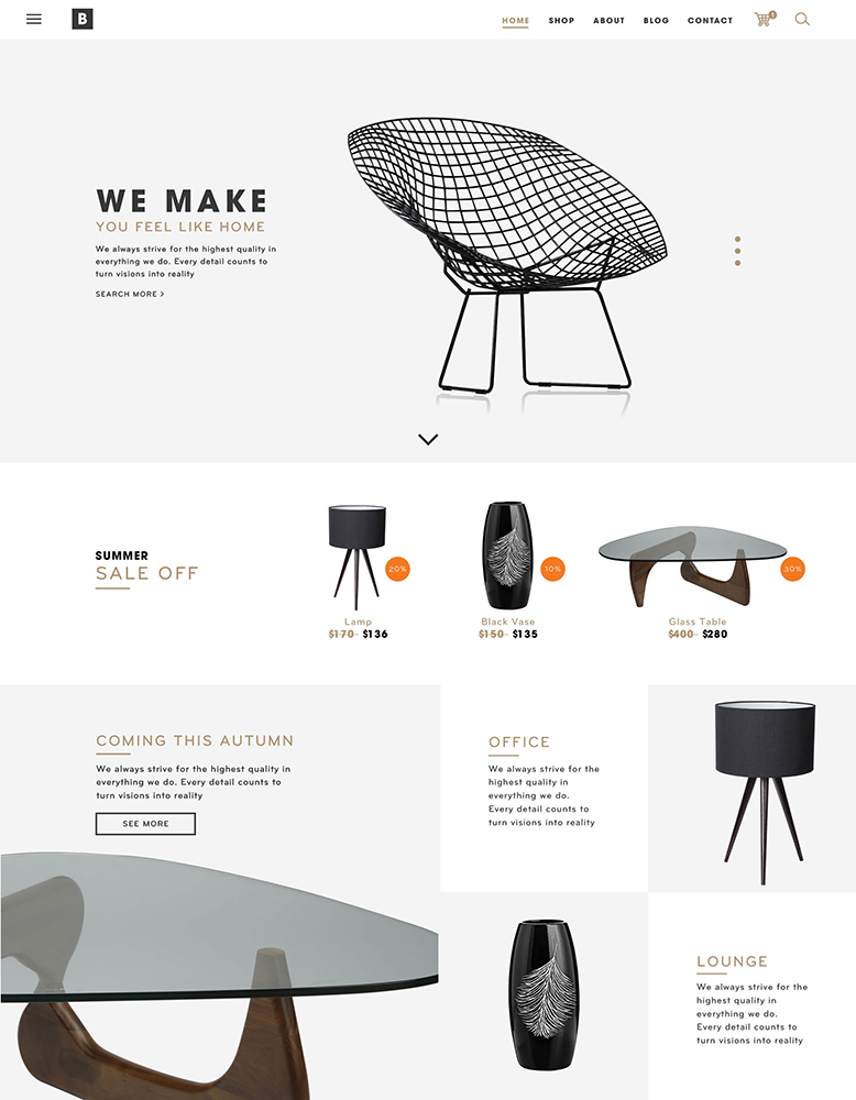 Br24 Freisteller & Retusche: E-Commerce, Möbel, Webshop Beispiel