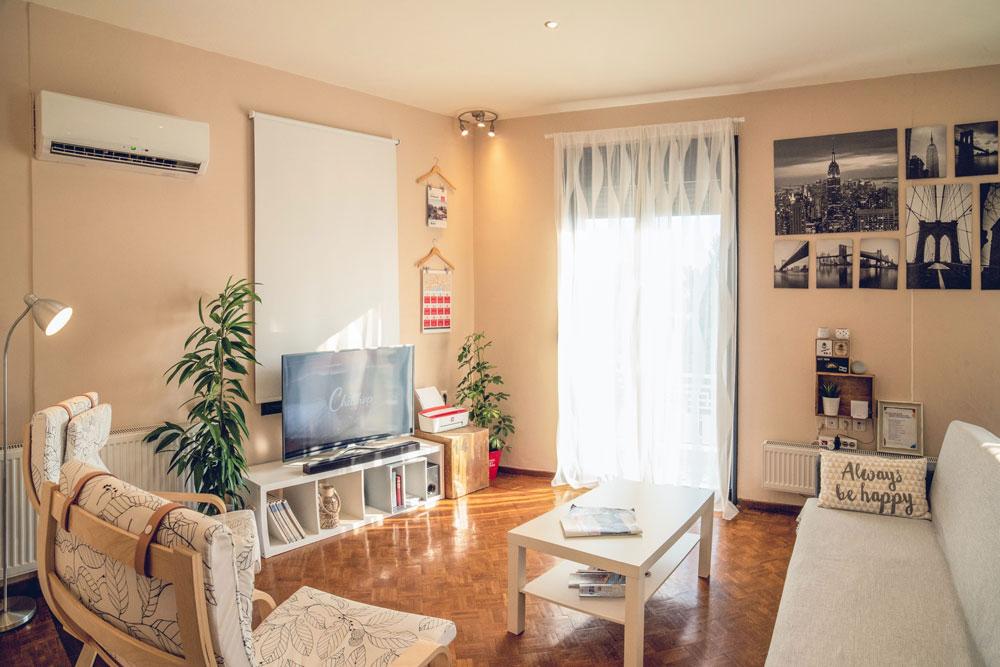 Br24 Immobilien, Retusche: modernes Wohnzimmer, bevor Retusche