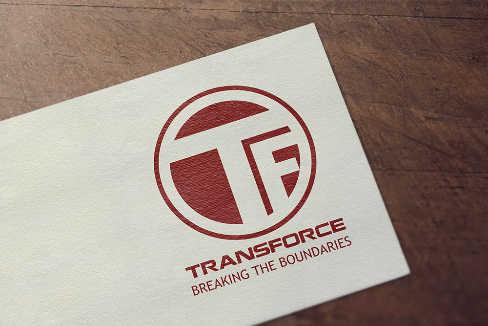 Br24 Layout Design: Business card for transport company