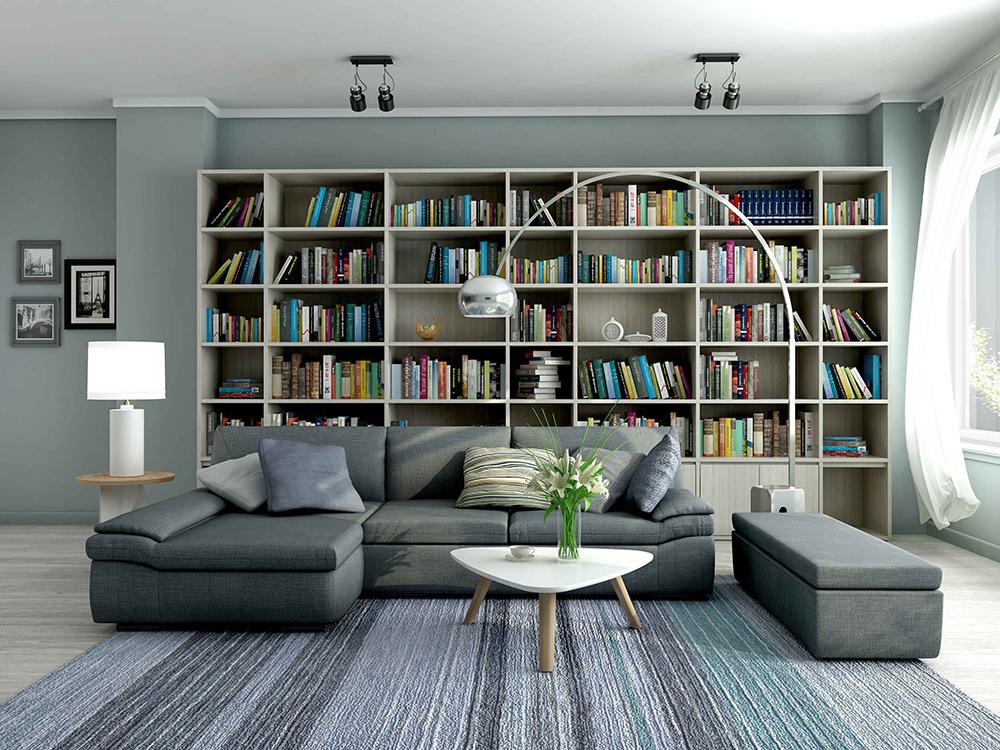 Br24 CGI / 3D: Wohnzimmer als 3D Modell nach Rendering