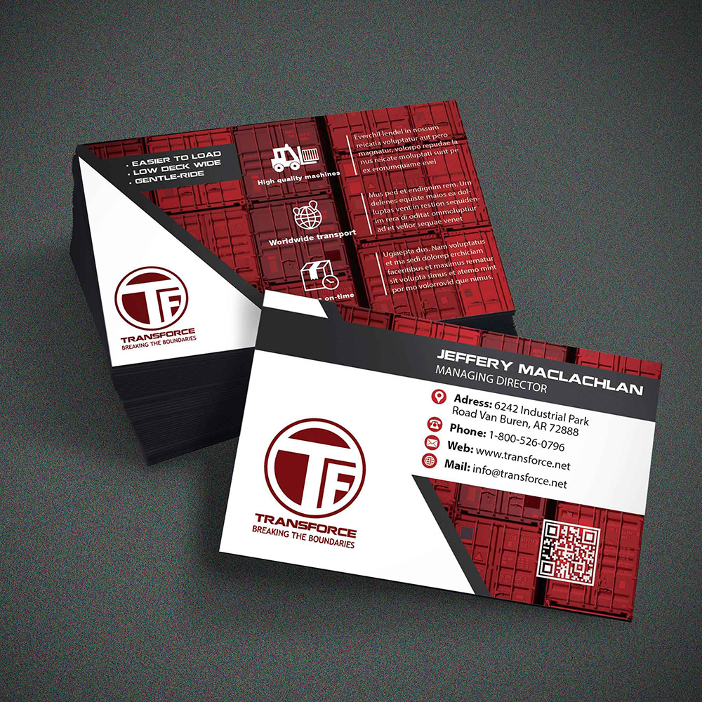 Br24 Layout / InDesign: Design of a business card