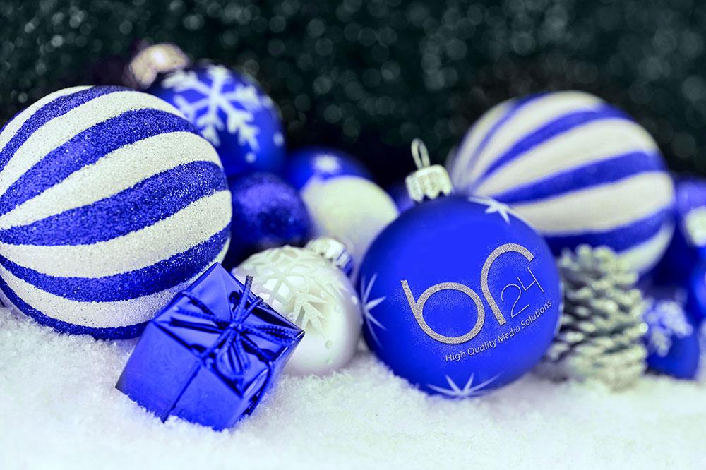 Br24 Colour Correction: Blue Br24 Glitter balls